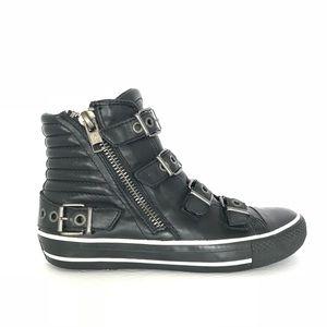 ASH Limited Vangelis All Black Buckle Sneaker